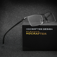 HDCRAFTER titanium eyewear tr90 близорукость очки кадр мужчины очки для чтения комфортное препятствующую скольжению очки кадр для мужчин