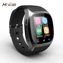 Hiwego бренд Для мужчин Для женщин M26 Смарт часы Bluetooth Спорт Смарт мужской часы M26 с циферблатом SMS напомнить шагомер для Android телефон