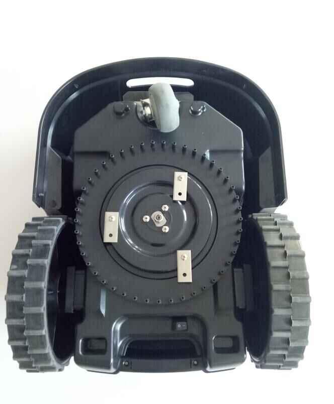 Новейший Wi-Fi контроль, водонепроницаемый робот газон mover с планировкой, интеллектуальная высота резки на ЖК-дисплее