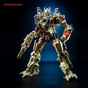 Image 5 - 18cm kbb mp10 KO Model transformacji G1 zabawka robot stop metali OP MP10V dowódca Diecast kolekcja Voyager figurka prezent