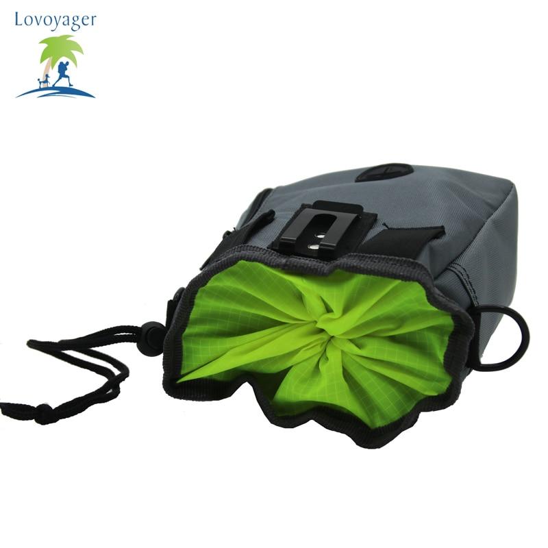 Lovoyager Pet Dog Treat Pouch Bag Training Carries Treats Toys Waste Bag Poop Bag Dispenser Adjustable Waist and Shoulder Belt