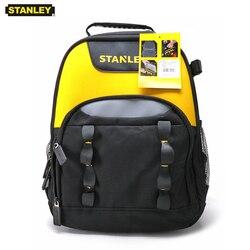 Mochila multifuncional Stanley para herramientas, mochila para electricista con bolsillo para portátil de 15,6 , mochila de lona para herramientas, bolsas de almacenamiento