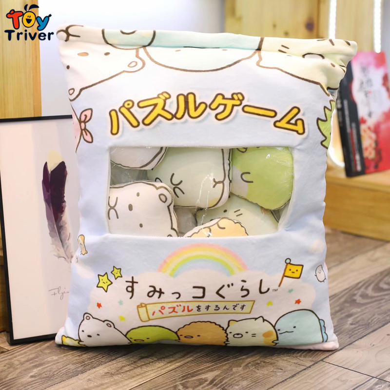 San-x COIN OREILLER animation japonaise sumikko gurashi Stuffed Plush Toys 90 cm