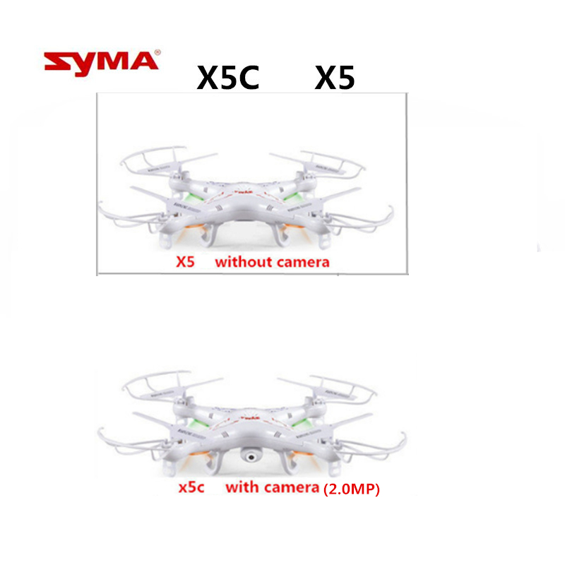 Quadcopter SYMA X5 Drone 2.4G 6-Axis or SYMA X5C (Upgrade Version) RC Drones with 2.0MP Camera Remote Control Helicopter Toys