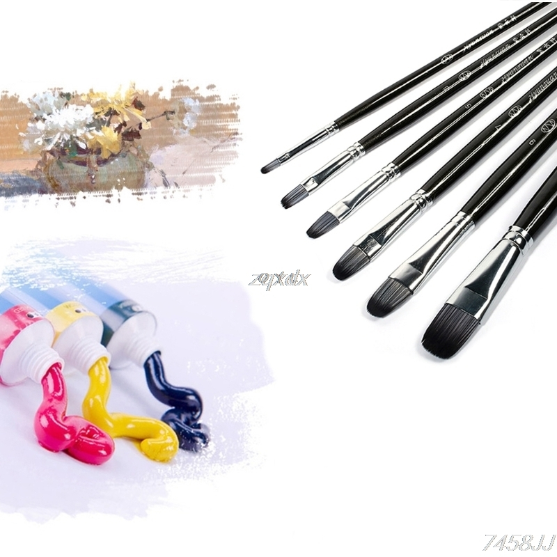 Watercolor Drawing Craft DIY Kid 10pcs Painting Brushes Set for Art Painting Oil Acrylic