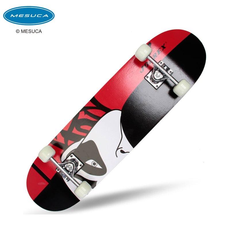 ФОТО Adult road based double rocker skateboard skateboard frosted Maple four wheel skateboard
