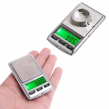 Mini 100g/0.01 200g/0.01 Digital Jewelry Dual Scale Weight Electronic Pocket LCD -B119