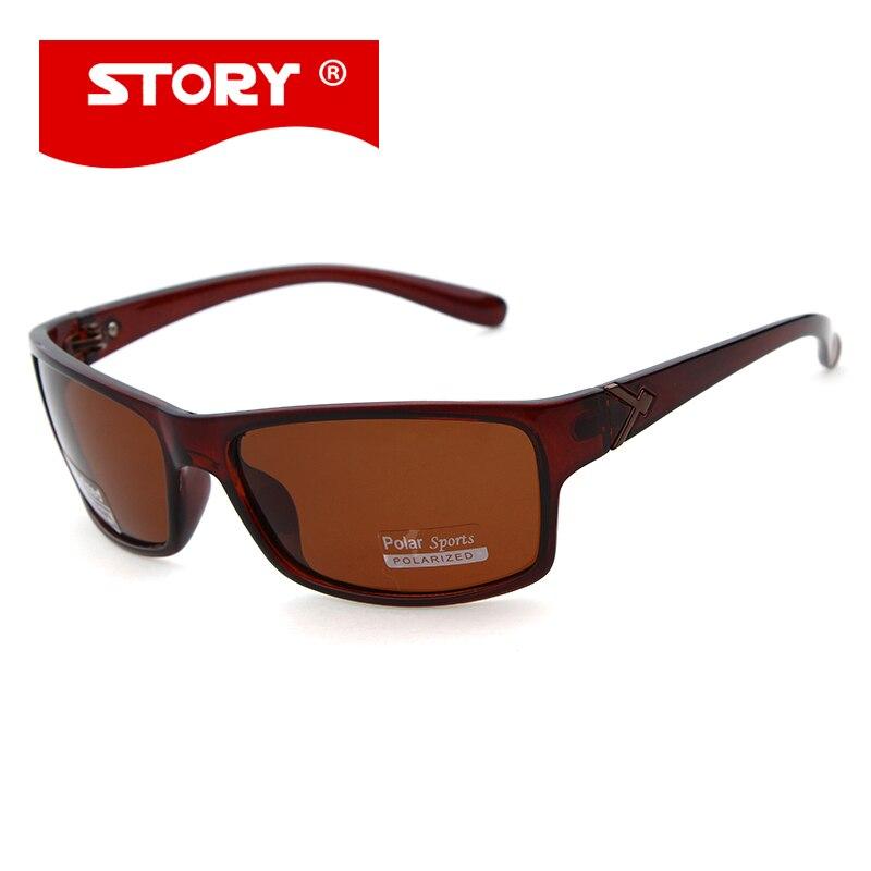 0fd311b683fd STORY 2017 Sports Men Sunglasses Shield Shape Polarized Male Gafas De Sol  Brand Design Fishing Eyewear Top Quality -in Sunglasses from Apparel  Accessories ...