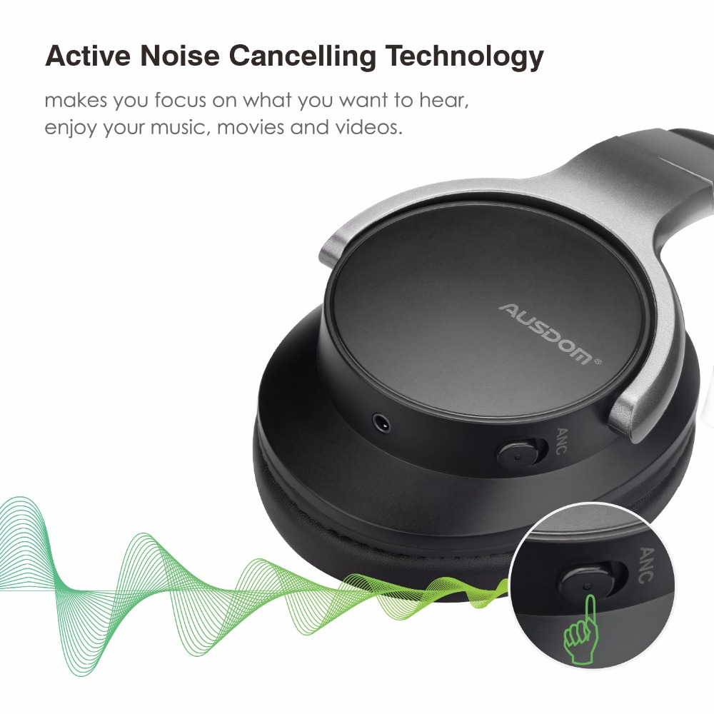 Ausdom ANC8 Wireless Headphone 1