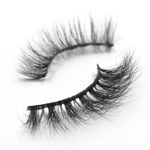 4ecd83e1f3f 3) iflovedekd Mink Hair Lashes Cruelty Free Handmade 3D False Eyelashes  Soft Natural Wispy Volume Eyelash Extensions 3D-16