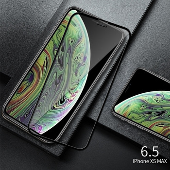 Full Cover Tempered Glass For iPhone XS Max XR X Explosion-Proof Screen Protector Film For iPhone 6 6s 7 8 Plus 5 5S 5C SE Glass 4