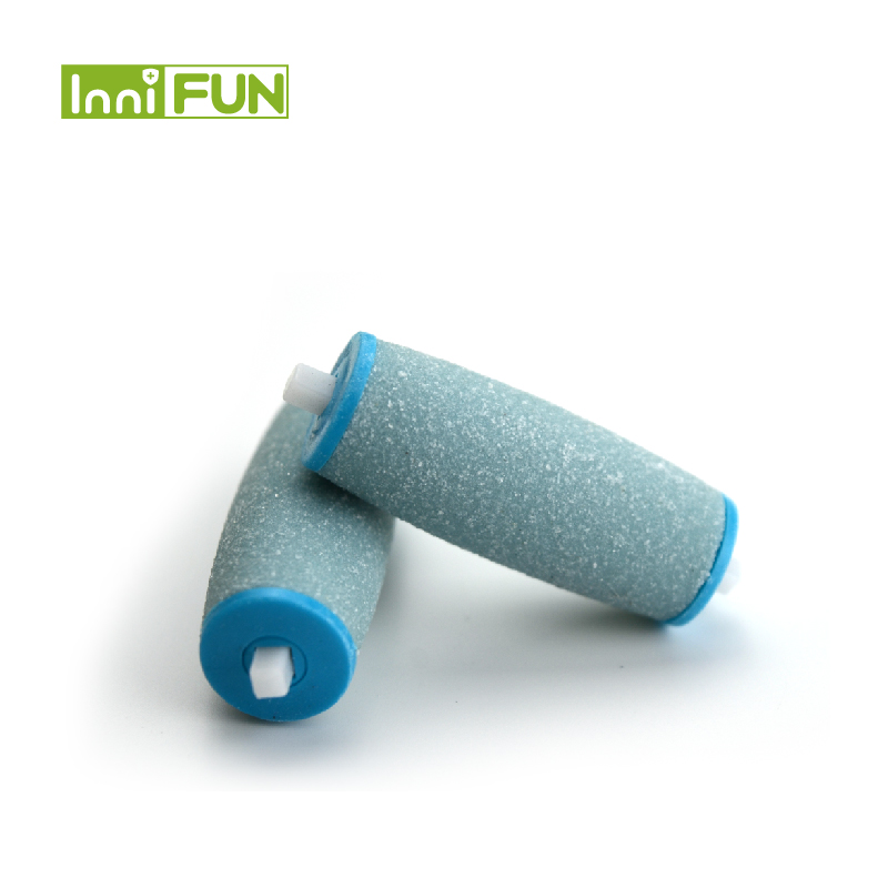 Blue color 2pcs/lot Replacement rollers foot skin Soft Smooth Professional Refiller for Pedi Electronic Foot File Kit