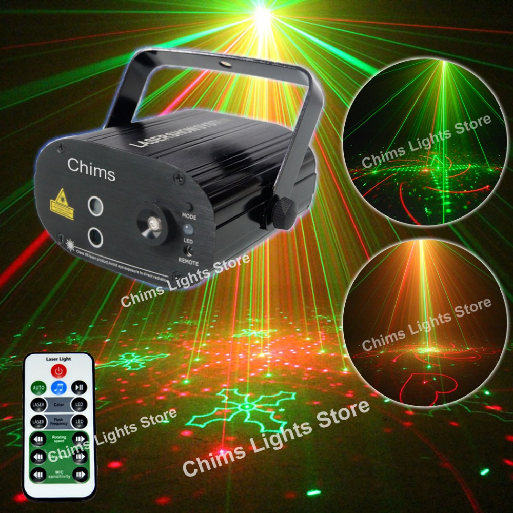 Chims Stage Laser 5 Lens 80 Gobos Pattern RG Laser Blue LED Stage Light DJ Dance Xmas Red Green Home Professional Musical DeviceChims Stage Laser 5 Lens 80 Gobos Pattern RG Laser Blue LED Stage Light DJ Dance Xmas Red Green Home Professional Musical Device