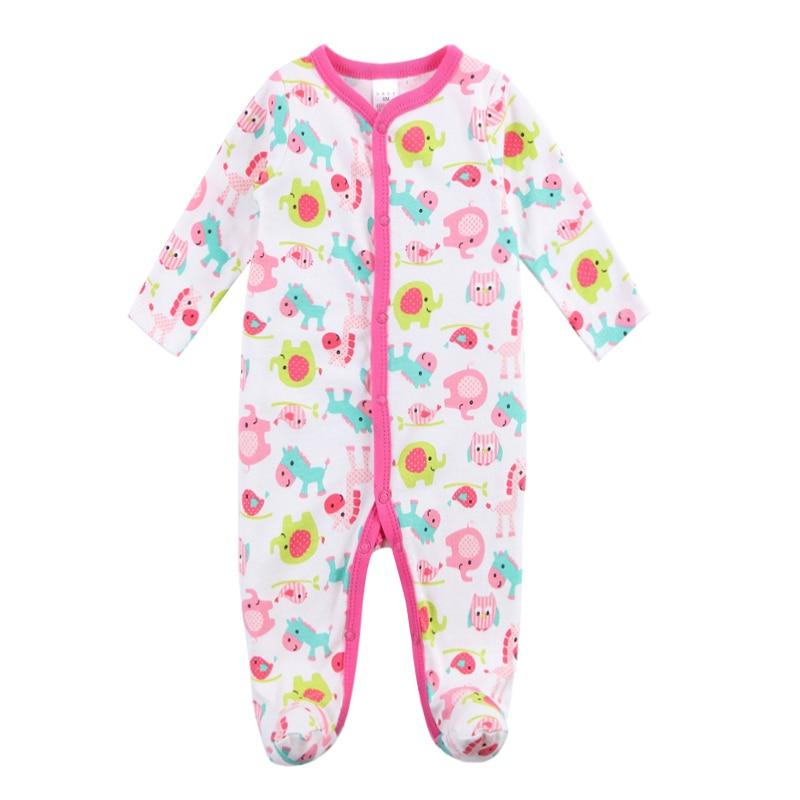 2018 תינוק חדש תינוקת בגדי רומפר שרוול - ביגוד לתינוקות