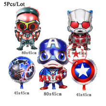 baby super hero balloon inflatable the avengers toys heium foil party decoration supplies birthday party avengers balloons