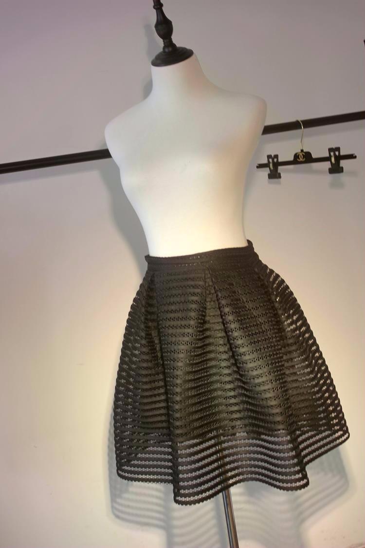 61d88d4ca34 2017 лето осень новый стиль сексуальные юбки мода женщин полосатый ...