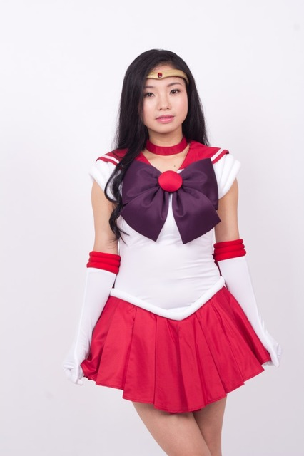 6b39124bd83f9 high quality plus size 3XL Halloween anime costume show Sailor Moon month  rabbit where Sailor Moon cosplay dress