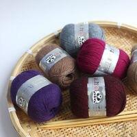 50 gam/Bóng Chồn Cashmere Sợi Cho Tay-Dệt Kim Crochet Đề Mỏng Tốt Mặc Trong Mùa Đông Một