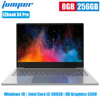Jumper EZBook X4 Pro Laptops 14 Inch Windows 10 Intel Core I3 5005U HD Graphics 5500 Dual Core 8GB 256GB 2MP Camera Notebook PC