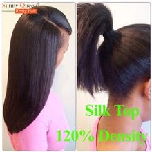 Silk Top Full Lace Wigs Brazilian Virgin Hair Light Yaki Glueless Full Lace Human Hair Wigs Density Silk Base Front Lace Wigs