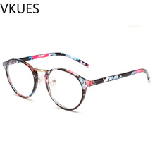 VKUES Anti Blue Light Glasses Ultralight Vintage Computer New Fashion Flat Mirror Screen Blocking