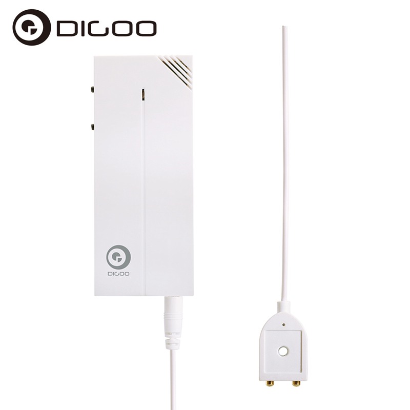 Digoo DG-HOSA 433MHz Wireless Water Leakage Alarm Water Level Detector for Home Security Guarding Alarm Systems digoo dg hosa smart 433mhz wireless smoke detector fi re alarm sensor for home security guarding alarm systems two grade