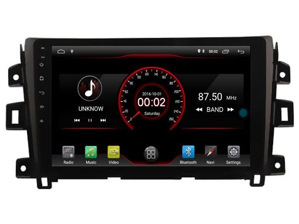 Elanmey top equipado 8 núcleo + 64G rom android 8.1 rádio do carro para Nissan NAVARA np300 2016 de navegação Gps unidade de cabeça de multimídia dsp
