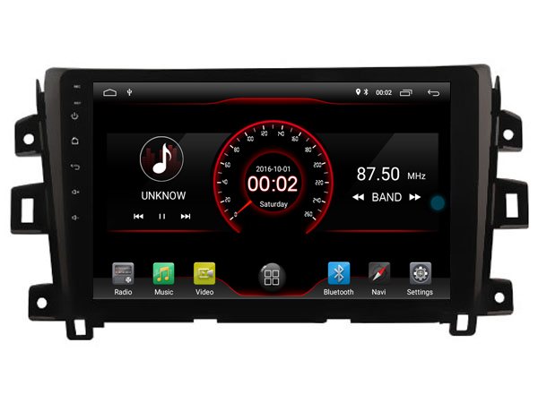 Elanmey top equipped 8 core 64G rom android 8 1 car radio for Nissan np300 NAVARA