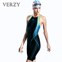 New Sportswoman Professional Sharkskin One Pieces Long Sport Swimsuits Athlete Backless Women Swimming Suit Competition Swimwear