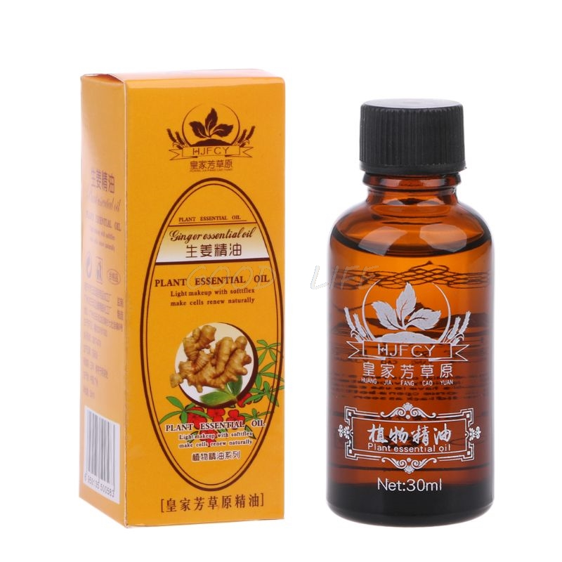 Free Shipping New Arrival Natural Plant Therapy Lymphatic Drainage Ginger Oil 30ml Hot Deal