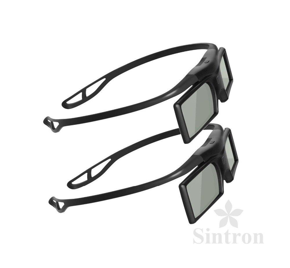 Sintron 2X 3D RF Active Shutter Glasses For 2012 2013 2014 2015 Samsung SSG 3100GB