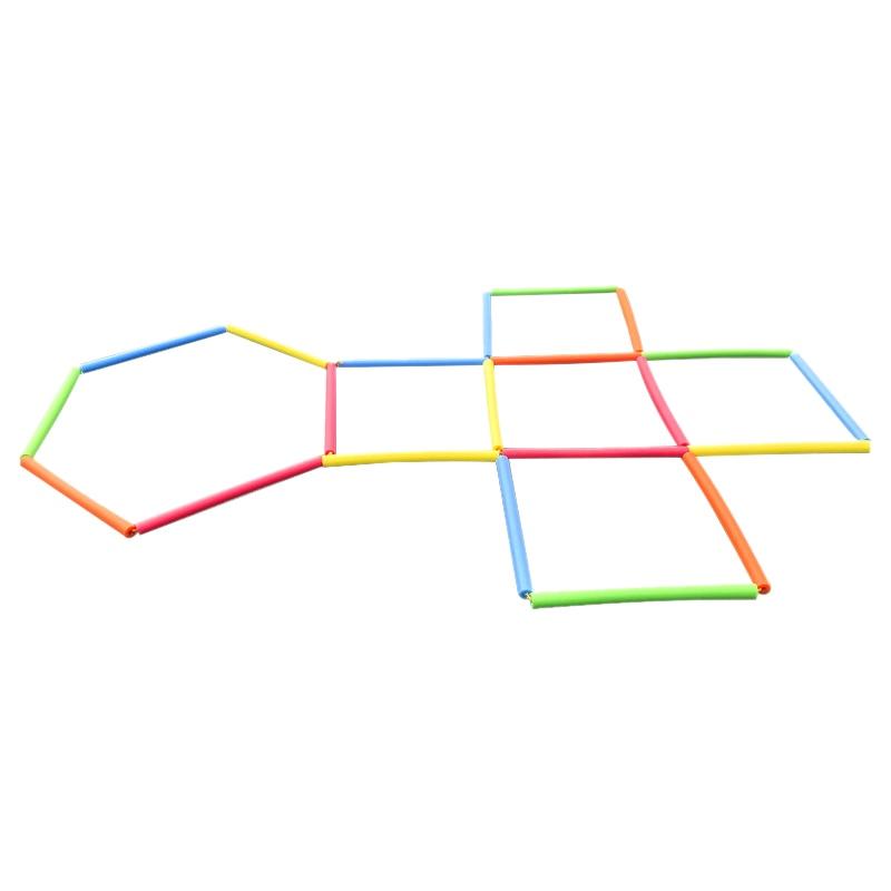 Fun Sponge Jump Lattice Sports Jump Ladder Outdoor Parent-Child Game Jump Toys Outdoor Sports Children/'S Educational Toys