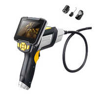 "4.3"" LCD Monitor SnakeInspection Endoscope Camera With Video 8mm Waterproof IP67 Endoscope Borescope Scope 6 LEDs 1M Tube"
