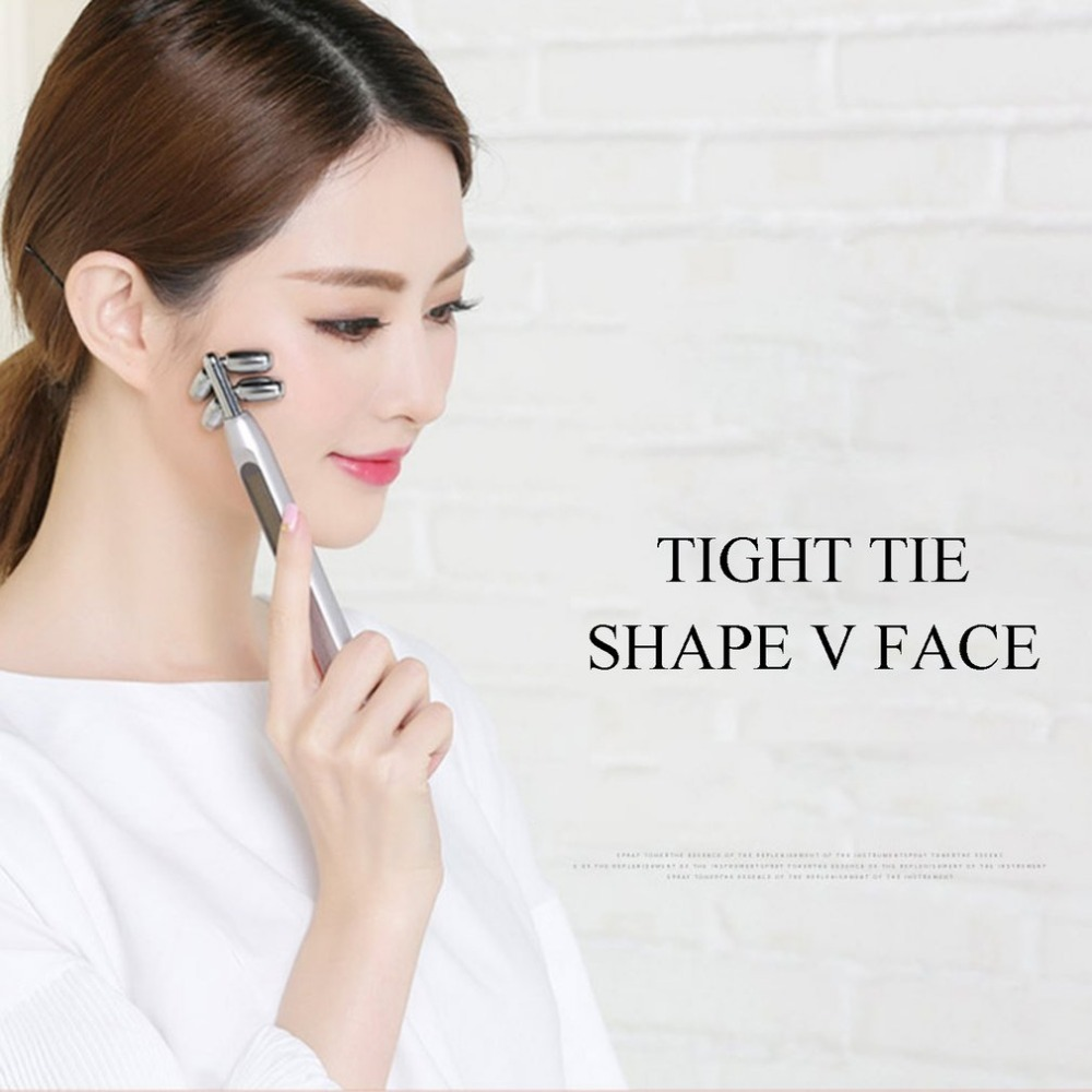 Для похудения солнечной энергии серебряный тонкий лицо полное тело Форма массажер лифтинг для удаления морщин лица расслабляющий массаж и