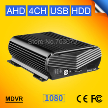 New Gision AHD 4CH Vehicle Mobile Dvr Hard Disk Video Mdvr For Bus Truck Farm CCTV Monitoring M-dvr Playback G-sensor I/O Alarm