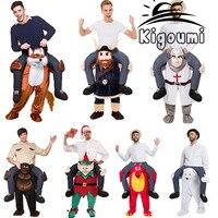 Novo Passeio de Páscoa Trajes Da Mascote Animal Engraçado Vestir Calças de Fantasia Novidade Trajes Da Mascote