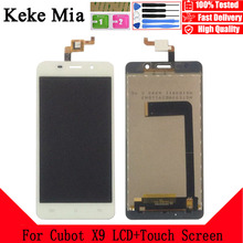 Keke Mia 5.0 For Cubot X9 LCD Display+Touch Screen 100% Original Tested Digitizer Glass Panel Replacement