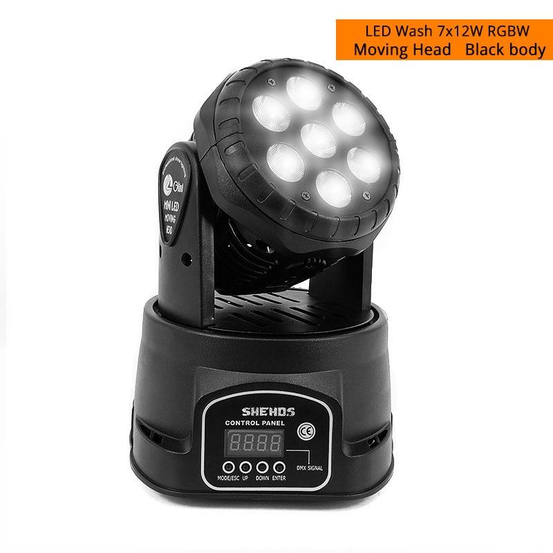 LED Wash 7X12W 4IN1