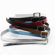 1/6 Scale Black/Brown/Red/White/Blue/Belt Leather Belt Model for 12Female/Male Action Figure