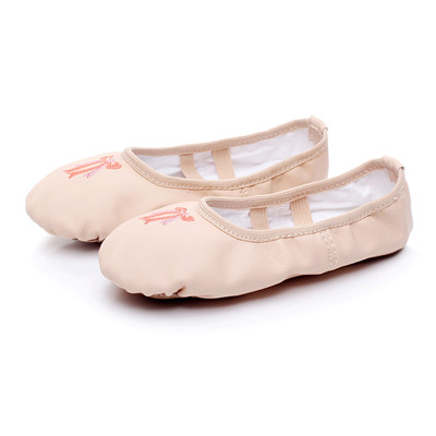 ef73286c51 US $4.95 |Flower's Secret Ballet Dance Shoes Yoga Sneakers Children Girls  Women Slippers According The CM To Buy-in Dance shoes from Sports & ...