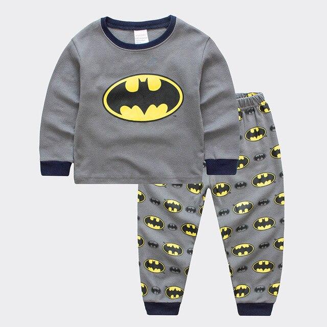 f4617cc8ad7aa 2019 Enfants Pijama Garçons Pyjama Spiderman Mickey Pyjama Bébé Garçon Noël  Pyjama Pyjama Enfants Toddle ensembles