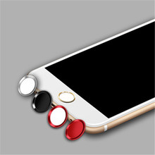 SIANCS Anti Sweat Protector Touch ID Home Button Sticker luxury For iPhon8 6S Plus 5S SE ipad mini3 Fingerprint