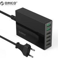 ORICO QSL 2 포트 QC 2.0 빠른 충전기 4 포트 5V2. 4A 50