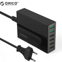 ORICO QSL 2 Ports QC 2 0 Quick Charger With 4 Ports 5V2 4A 50W Max