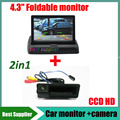 CCD car rear view camera for BMW 3 Series 5 Series X6 X5 X1 X6 E39 E46 E53 E82 E88 E84 E90 E91 E92 E93 E60 E61 E70 E71 + monitor