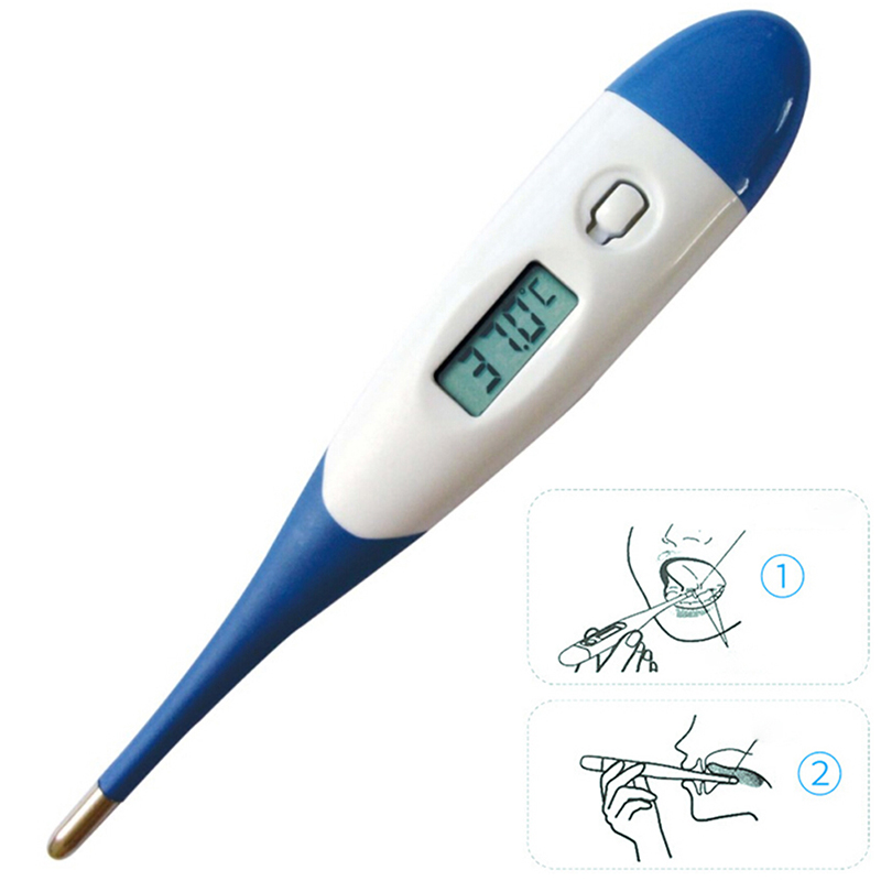 Digital LCD Heating Medical Thermometer Mouth Underarm Baby Body Temperature ^