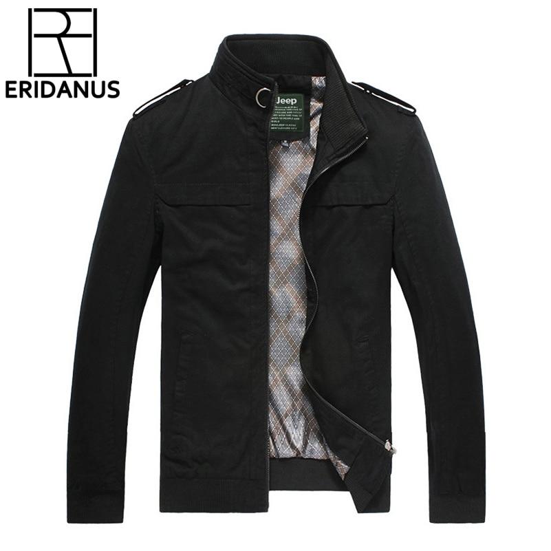 Ceket Erkekler Yeni Sonbahar Kış Arıtılmış Pamuk Moda Marka - Erkek Giyim - Fotoğraf 1