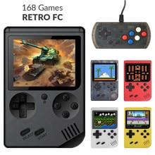 MINI portable 8 bit 168 Games retro handheld game children boy nostalgic players video console for Child Nostalgic Player