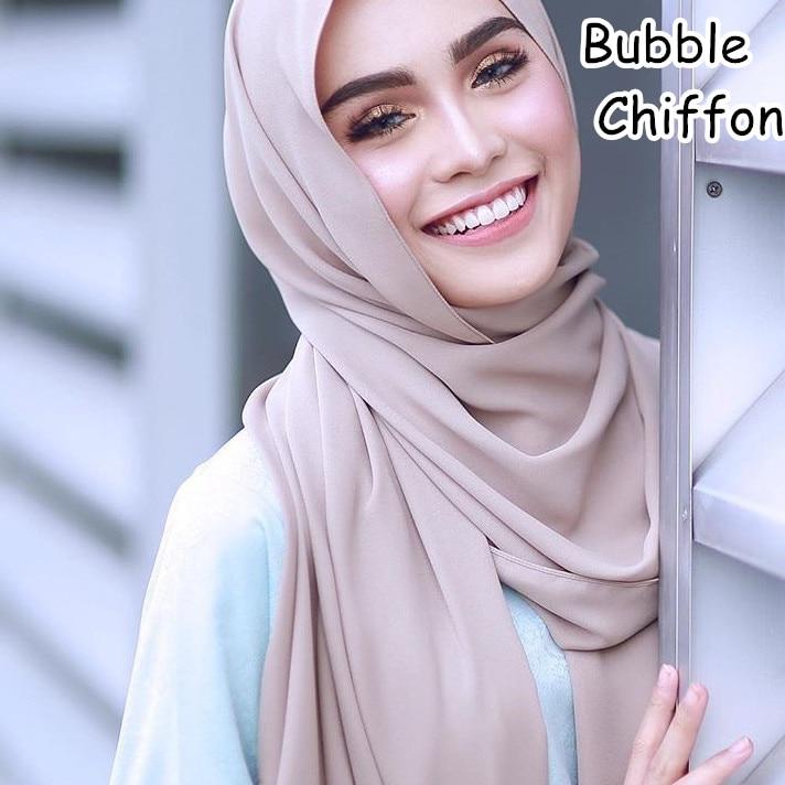 M2 Hot sale plain bubble chiffon hijab   scarf   shawl   wrap   lady headband women   scarf  /  scarves   180*75cm 10pcs/lot