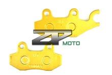 Wholesale For PEUGEOT Satelis 500 RS(Nissin Calipers) 08-12 Satelis 500 07-12 Geopolis 500 08-11 Rear Organic Kevlar Brake Pads Brand New